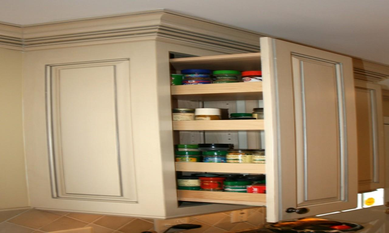 Kitchen Cabinets Pull Out Spice Rack Ideas