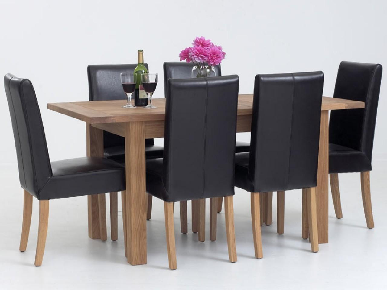 Kitchen Chairs Leather Wood Dining Table Kmartcom