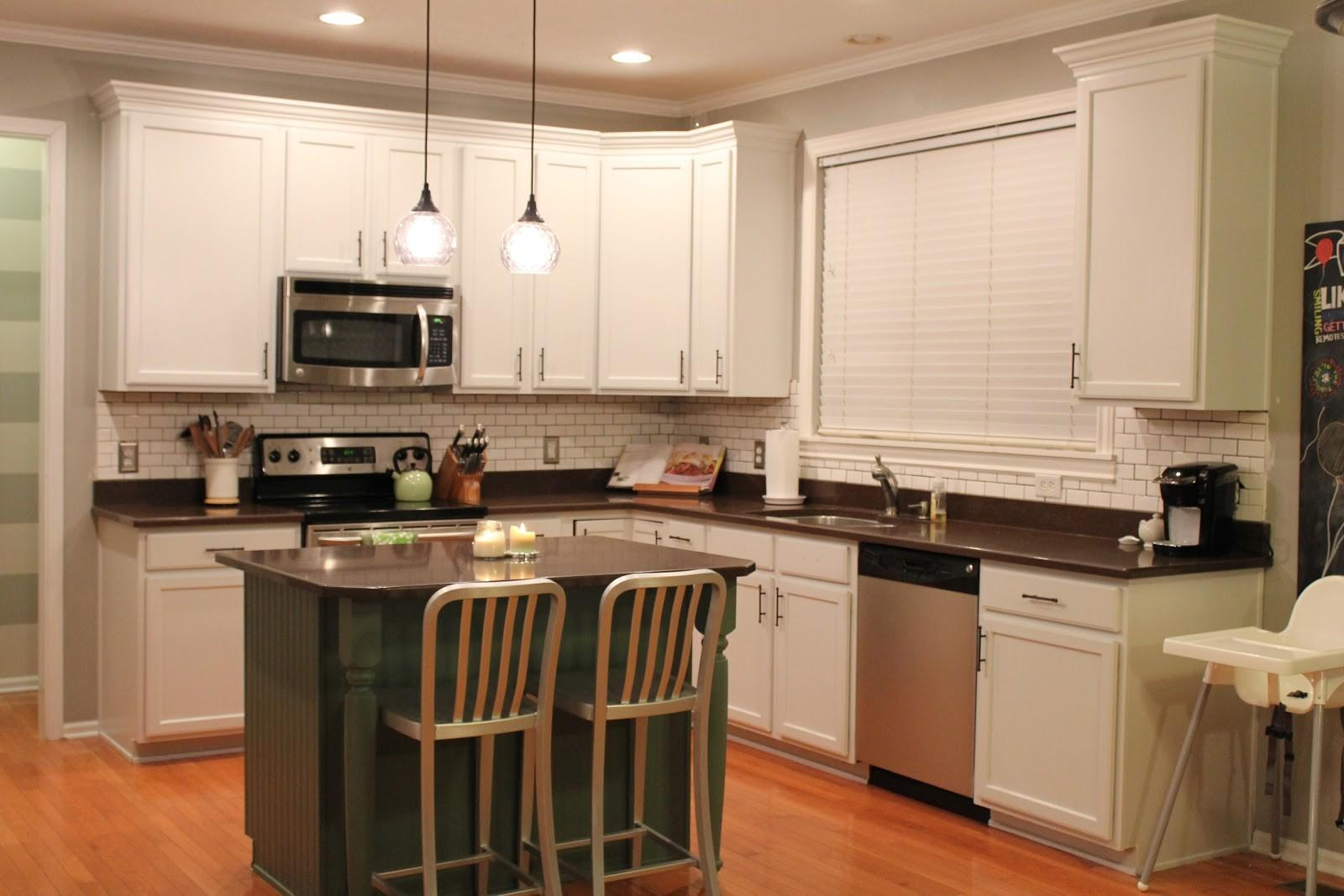 Kitchen Color Ideas White Cabinets Subway