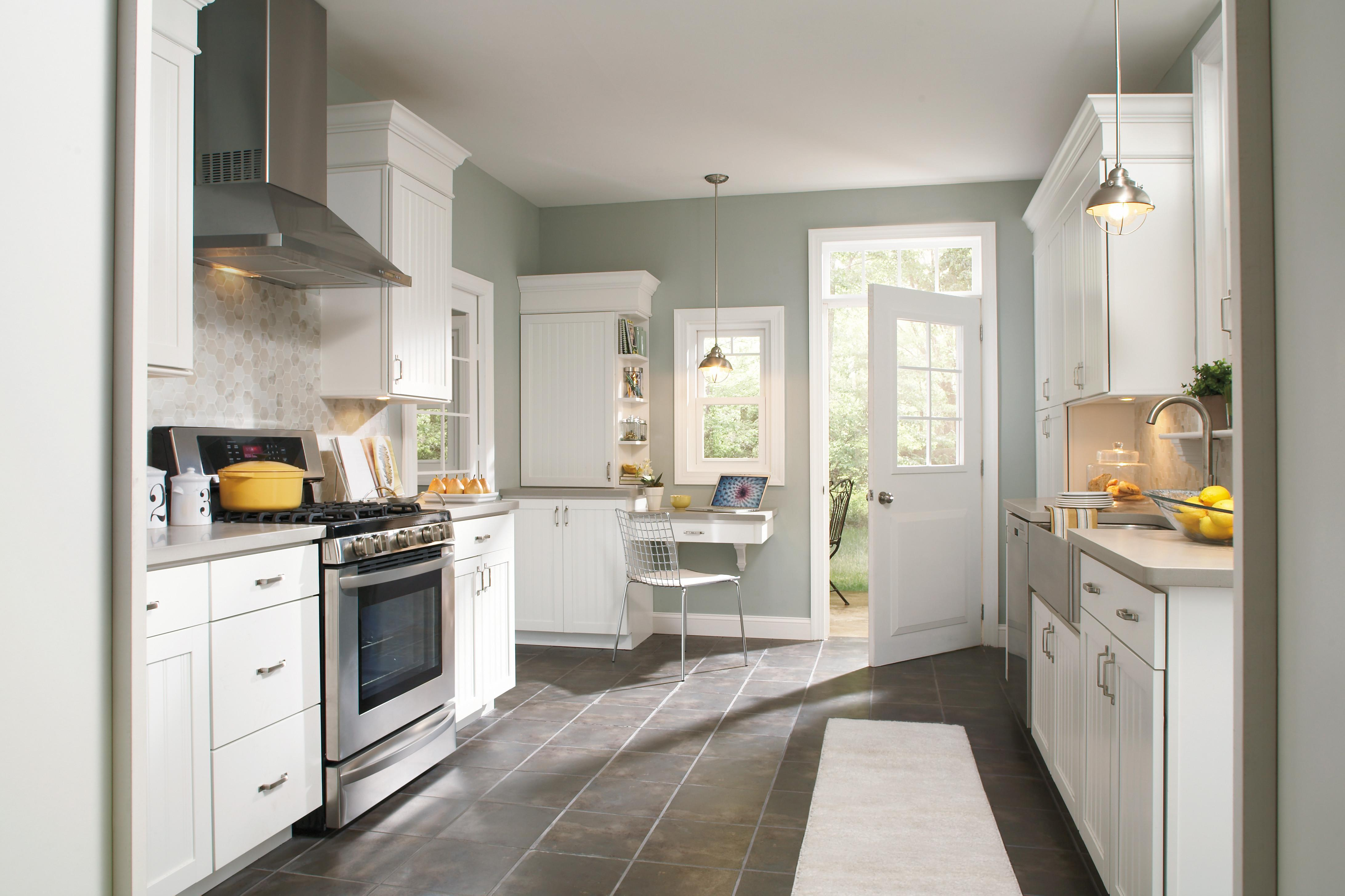 Kitchen Color Schemes White Cabinets Amazing Ideas