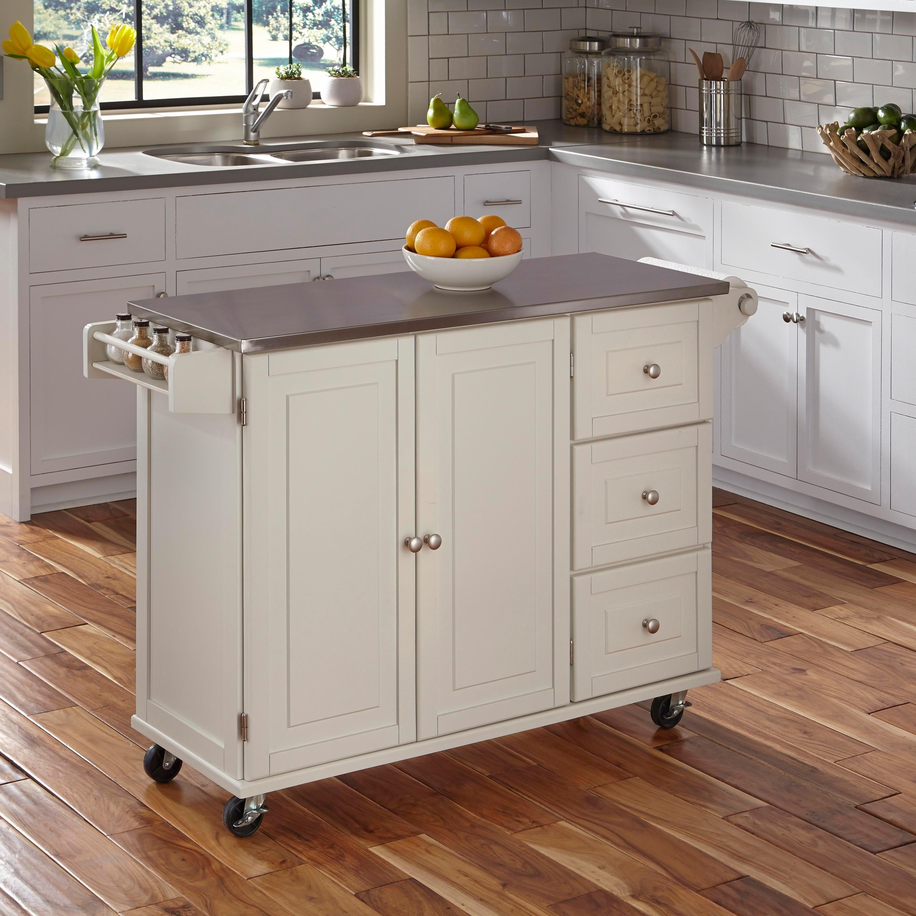 Kitchen Contemporary Small Trolley