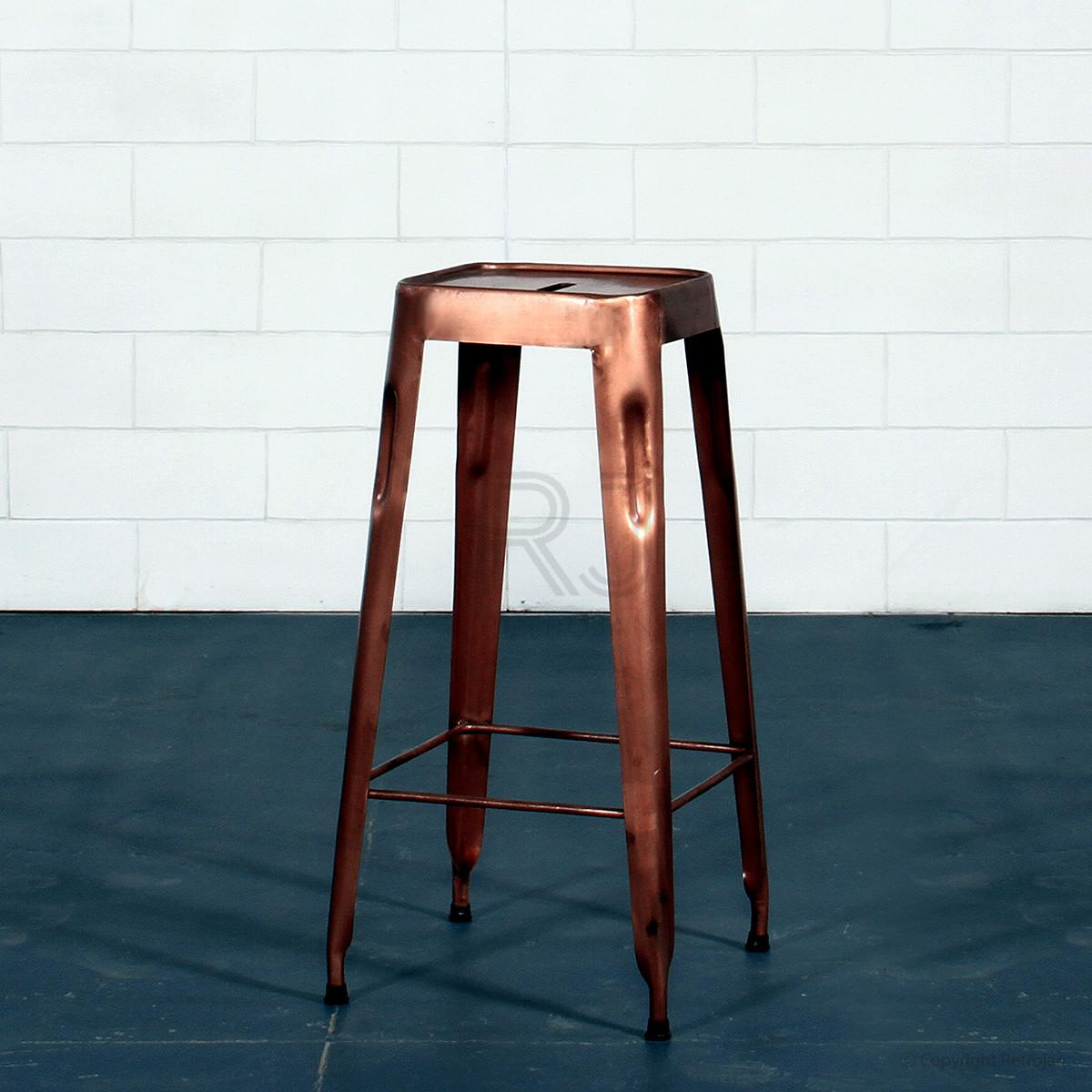 Kitchen Copper Bar Stools Contemporary