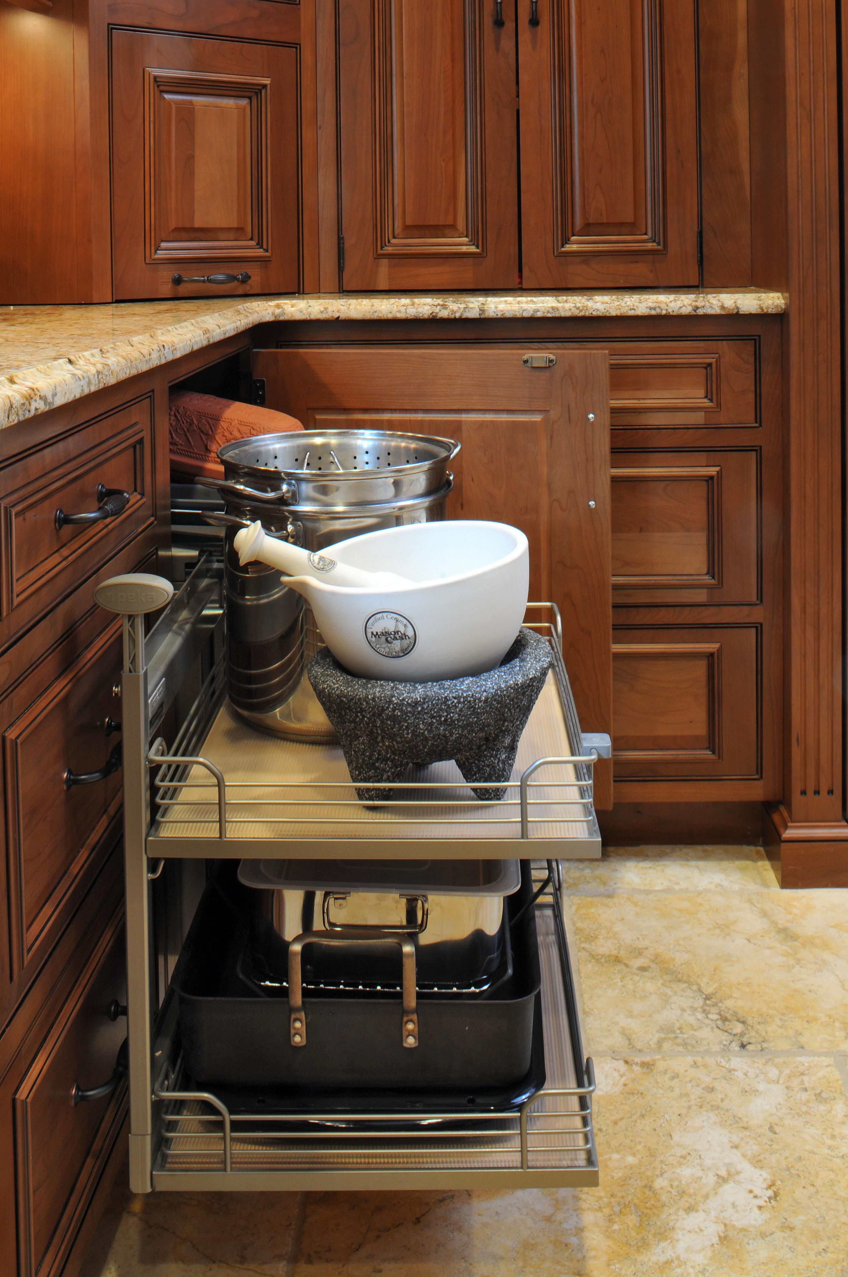 Kitchen Corner Cabinet Ideas Aneilve