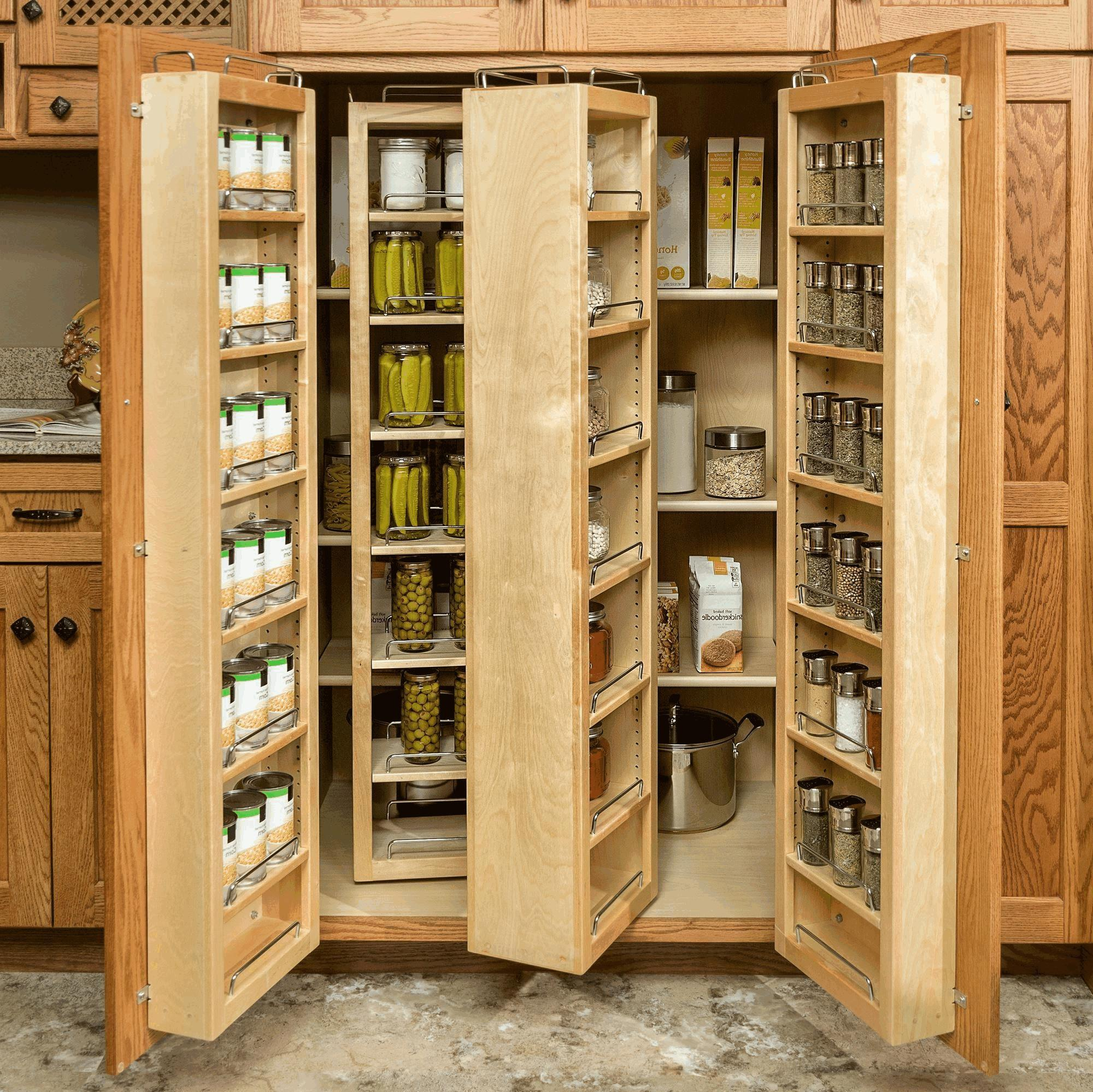 Kitchen Corner Cabinet Solutions Smooth Wooden Countertop