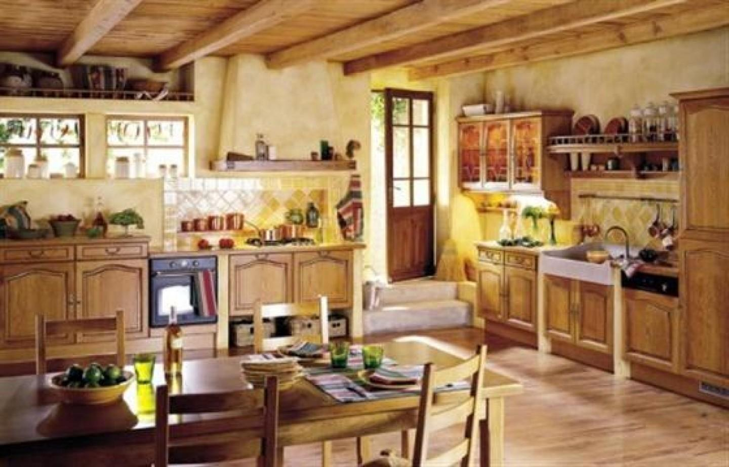 Kitchen Country Style Home Ideas
