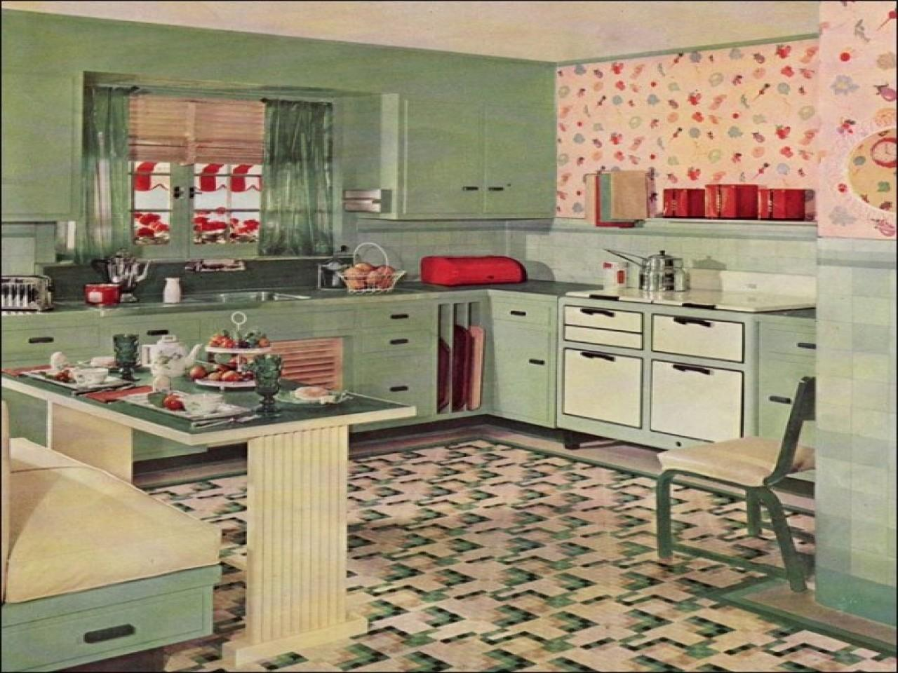 Kitchen Decor Apartments Retro Ideas