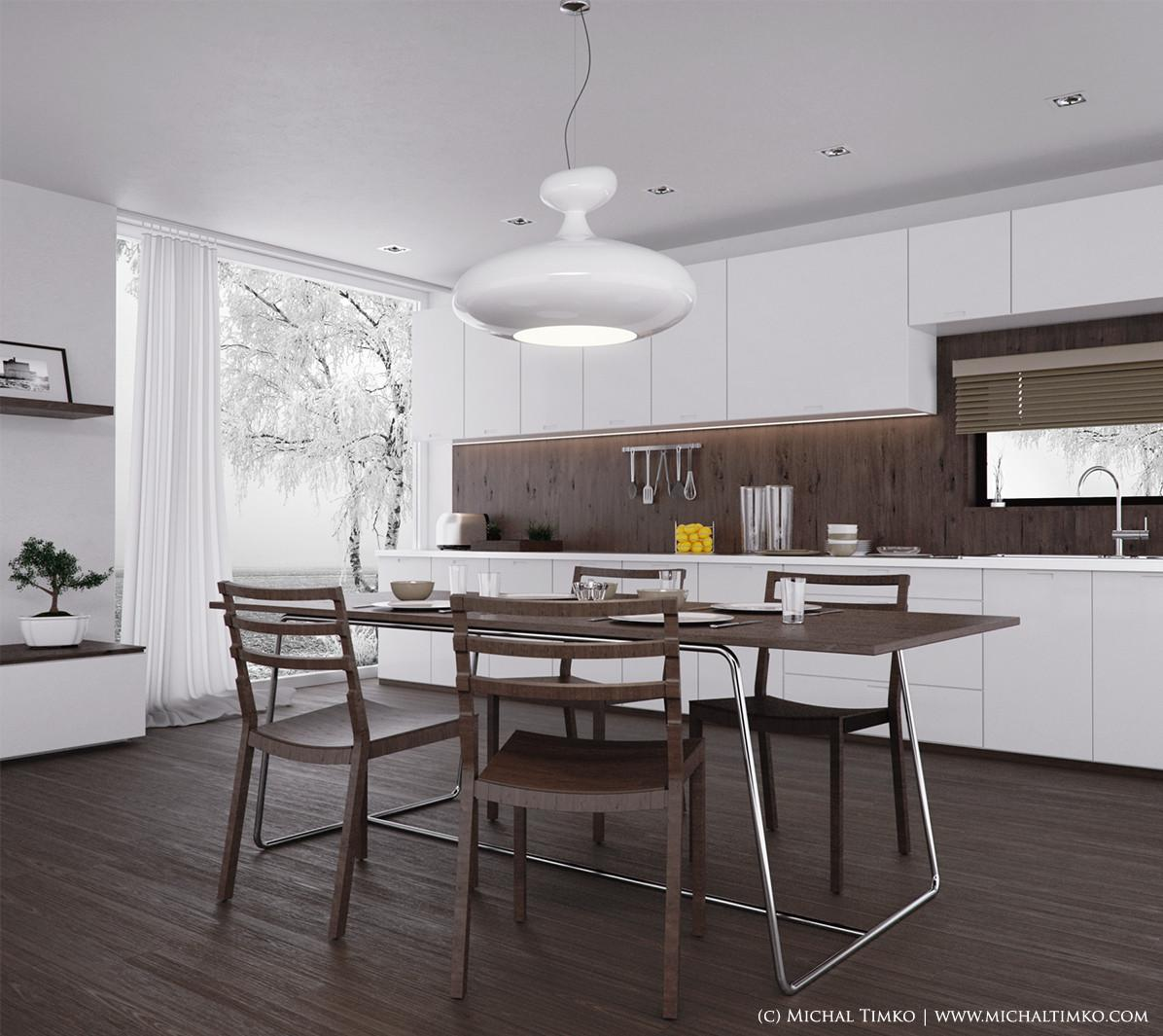 Kitchen Dining Cozy Modern Tables Luxury