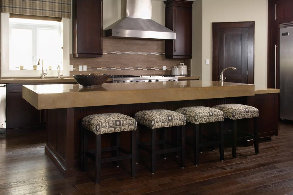Kitchen Exciting Concrete Countertop Ideas