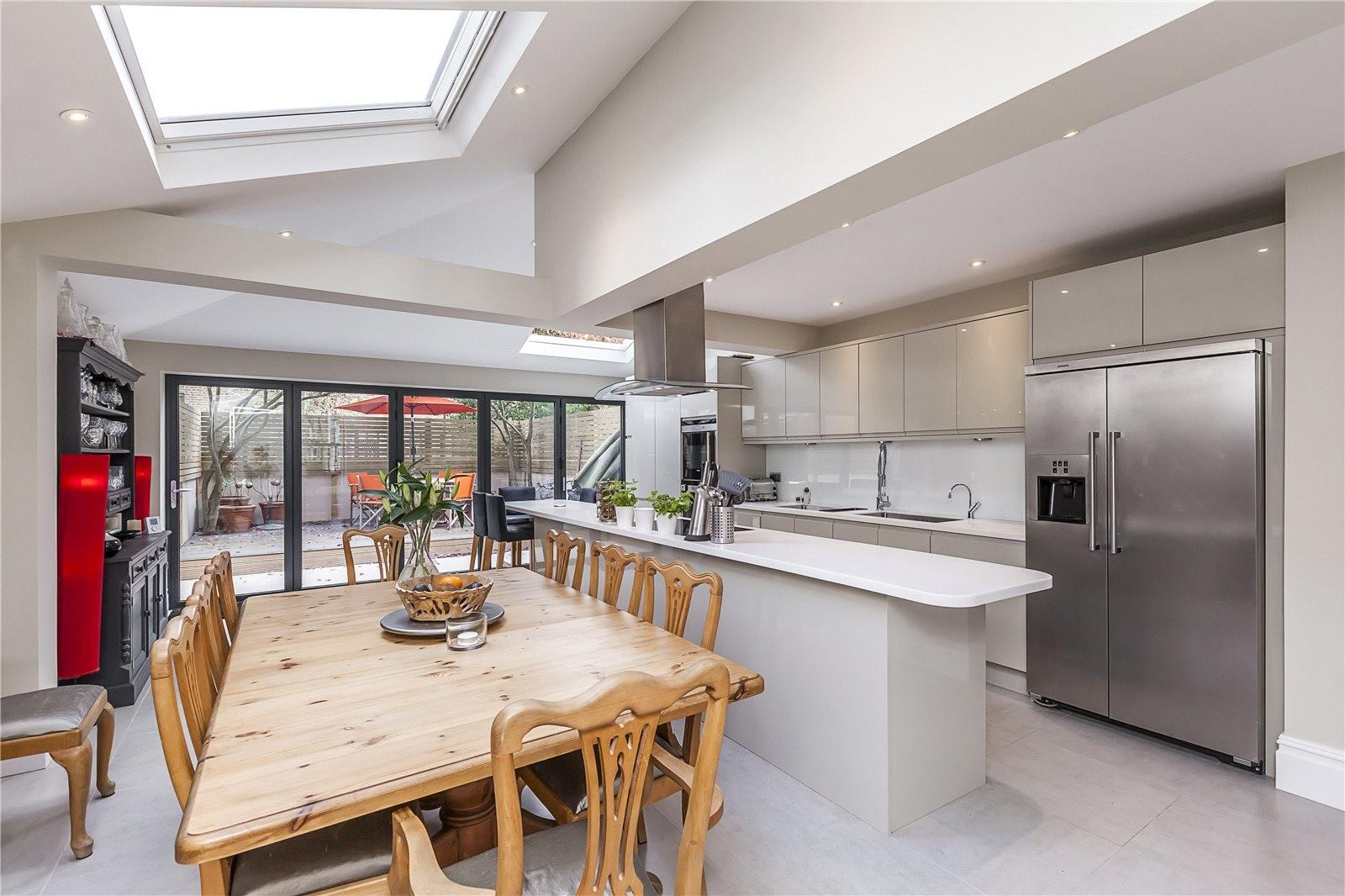 Kitchen Extensions London Architectural Designers