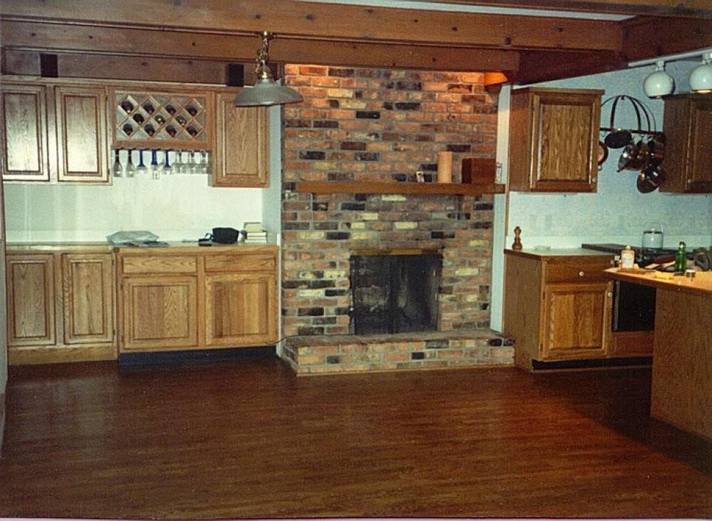 Kitchen Fireplace Ideas