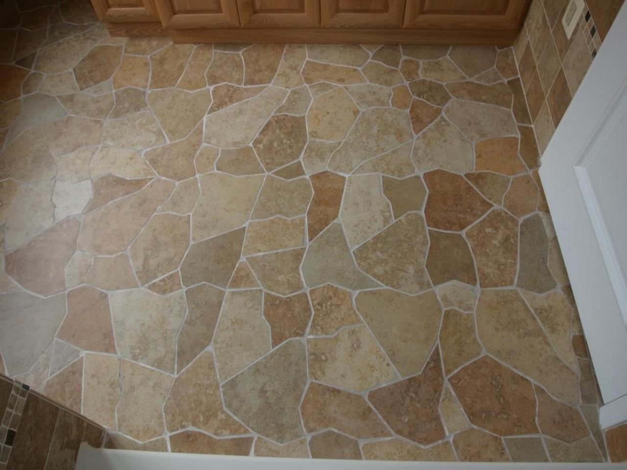 Kitchen Flooring Patterns Small Bathroom Floor Tile
