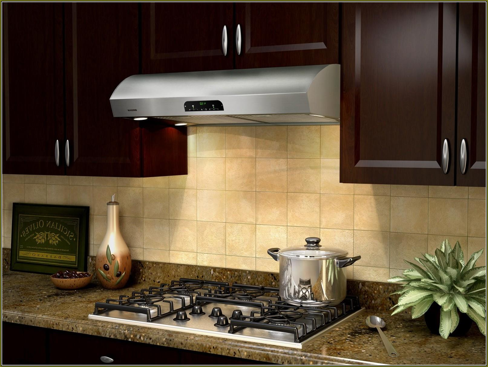 Kitchen Gas Stove Ductless Range Hood Also