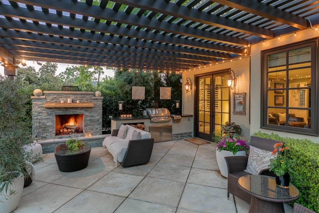 Kitchen Inexpensive Covered Outdoor