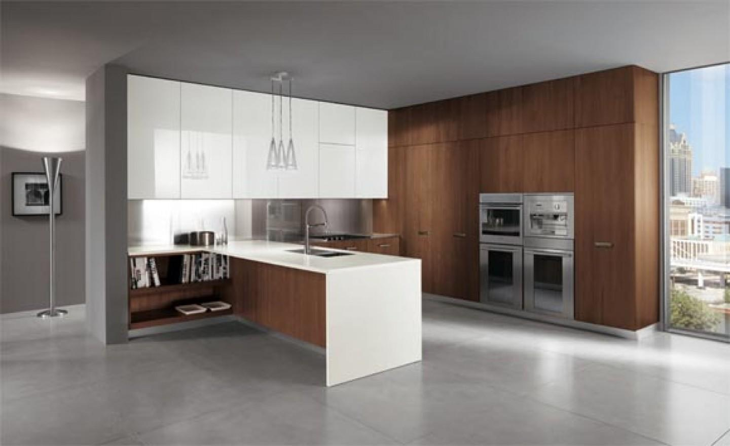 Kitchen Inspiring Italian Design Modern