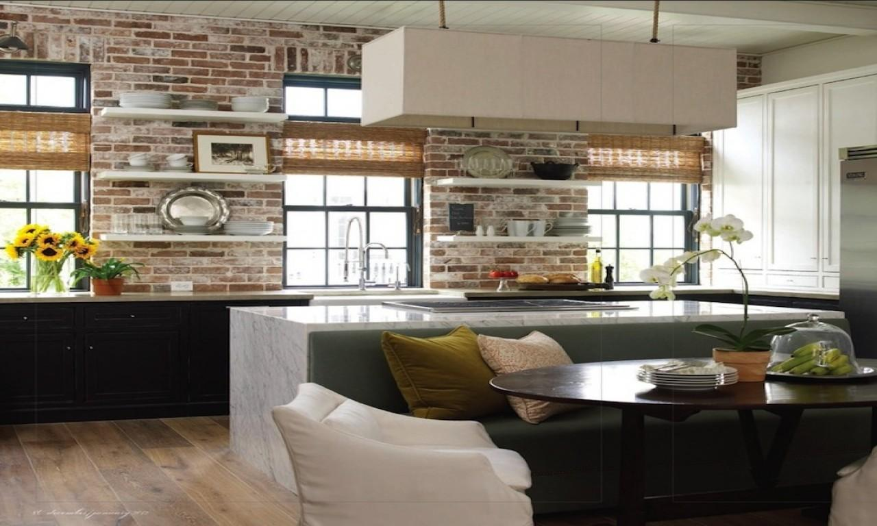 Kitchen Island Bench Seating Exposed