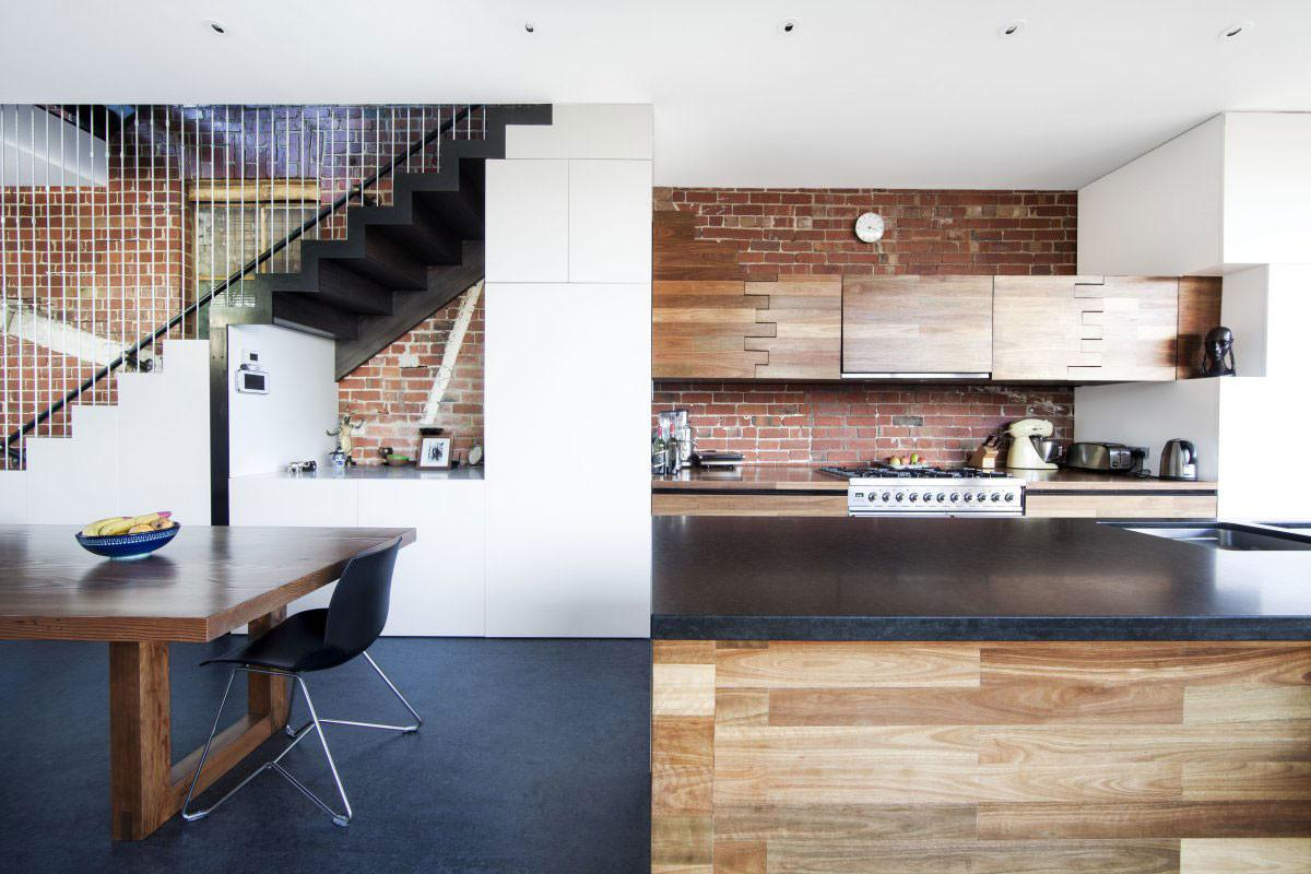 Kitchen Island Dining Table Warehouse Conversion