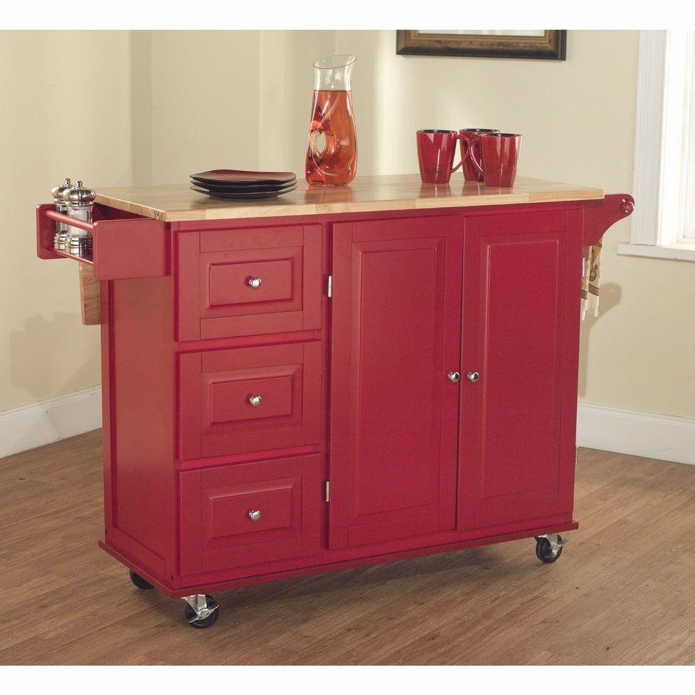 Kitchen Island Table Work Stations Portable Cart