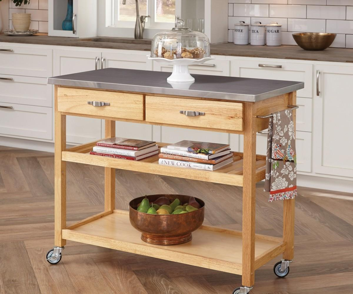 Kitchen Island Wheels Neat Darby Home Arpdale