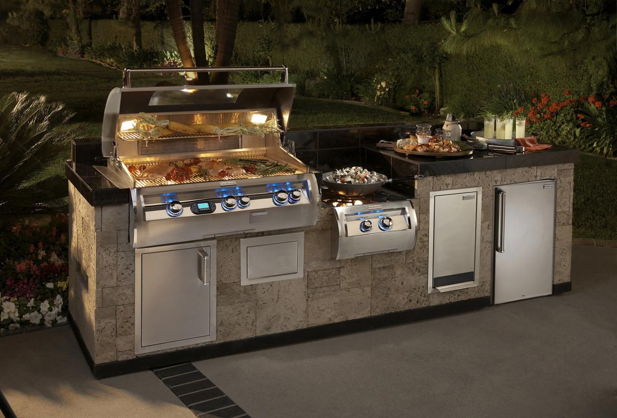 Kitchen Modern Bull Outdoor Kitchens Cool Stove