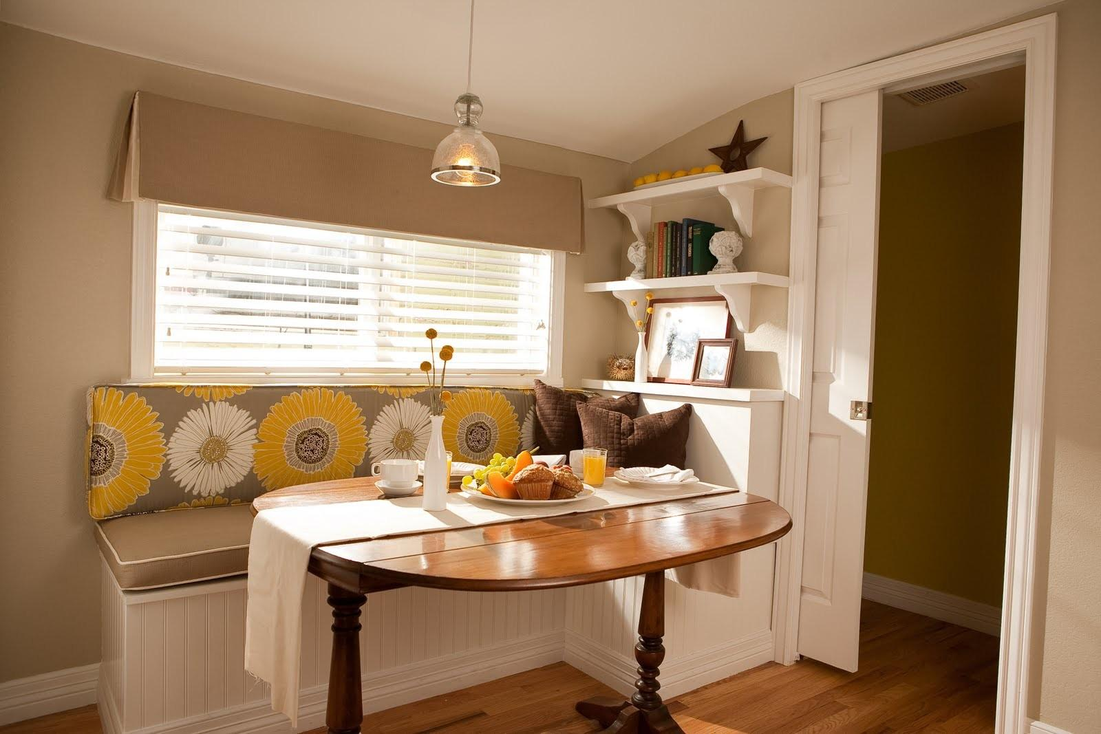 Kitchen Nook Table Ideas Space Saving Solution