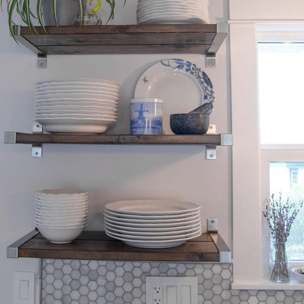 Kitchen Open Shelving Hometalk Diy