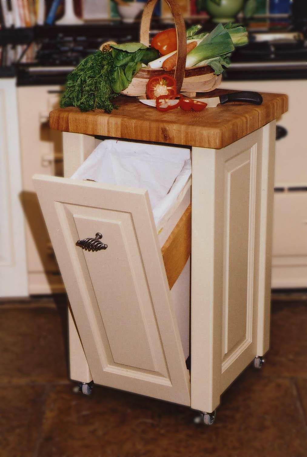 Kitchen Outstanding Hide Trash Can