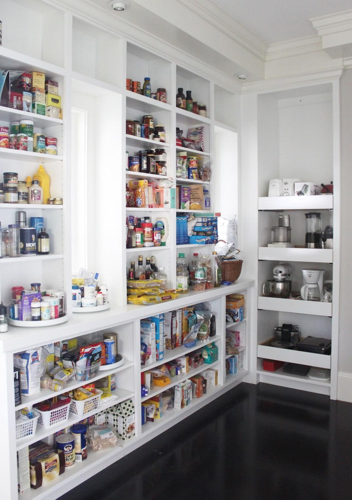 Kitchen Pantry Closet Shelving Ideas
