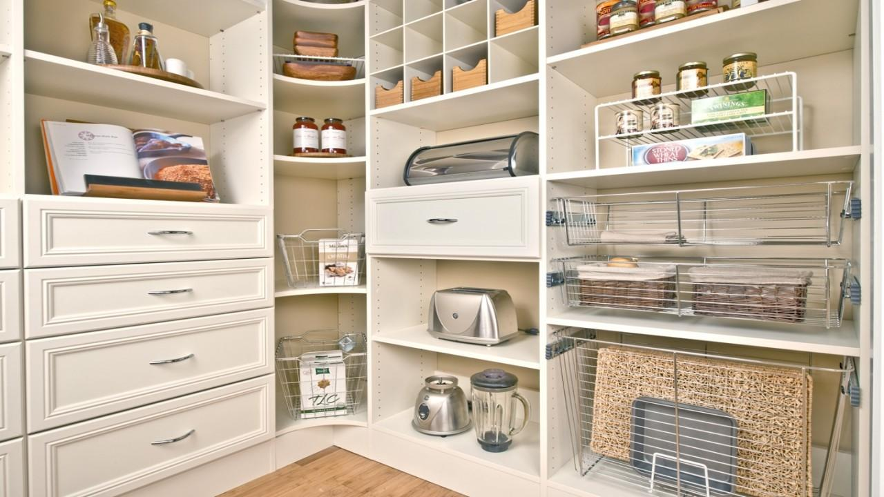Kitchen Pantry Organization Tips Small