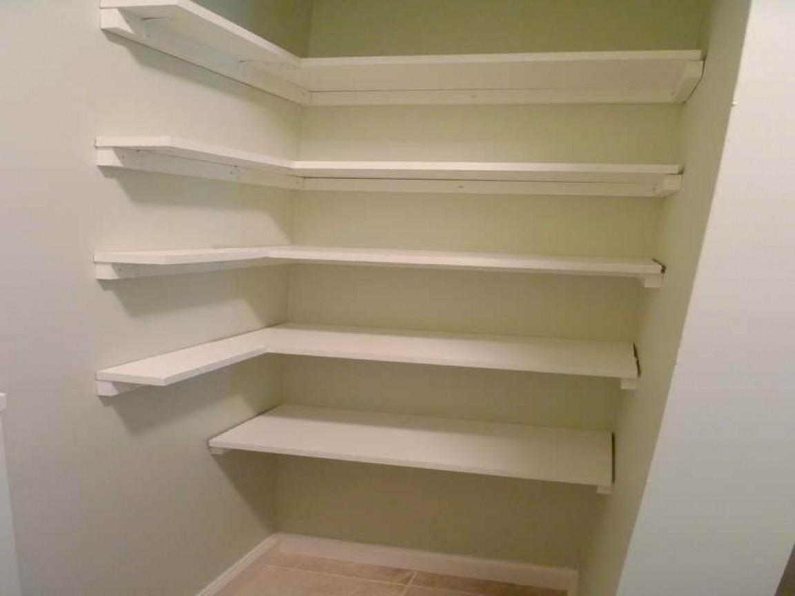 Kitchen Pantry Shelving Inexpensive Storage Ideas