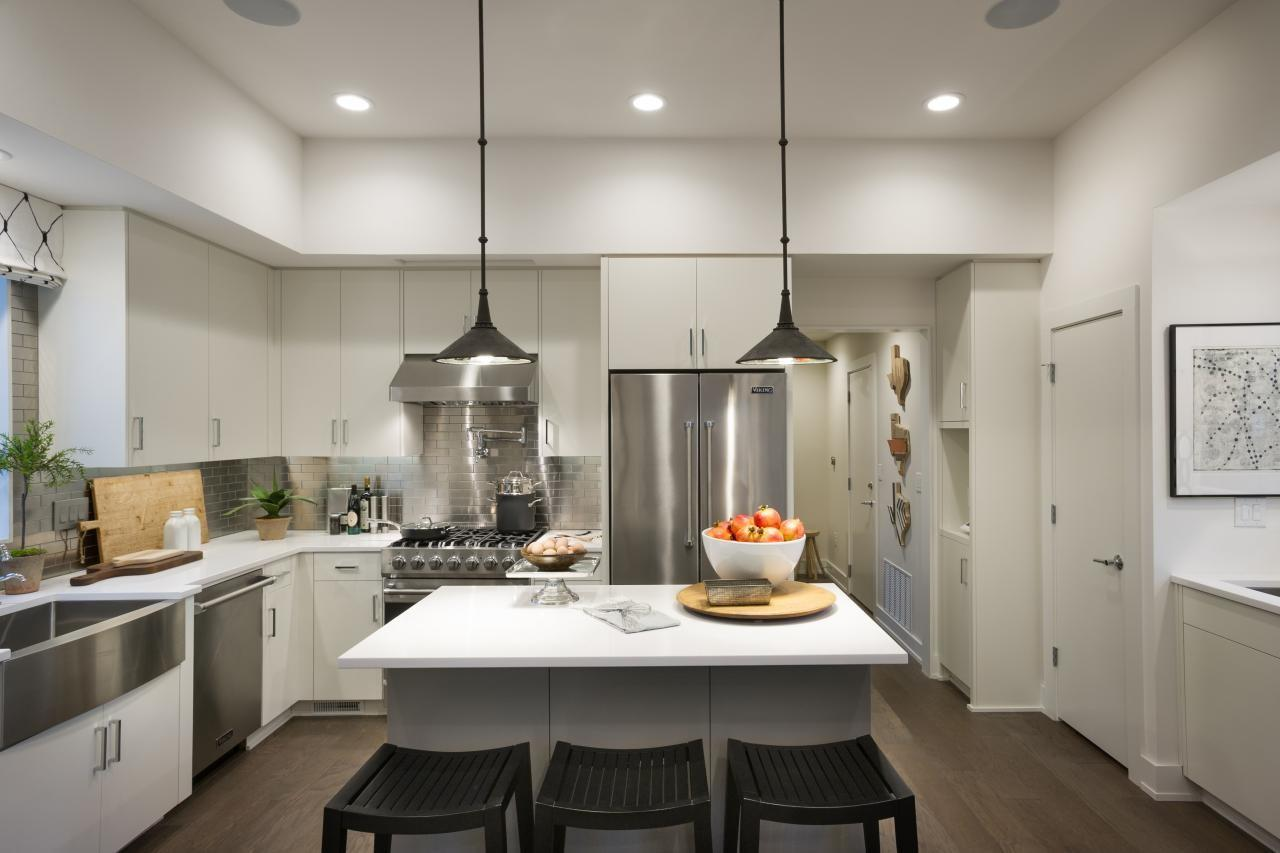 Kitchen Recessed Hanging Lights High Ceiling Plus