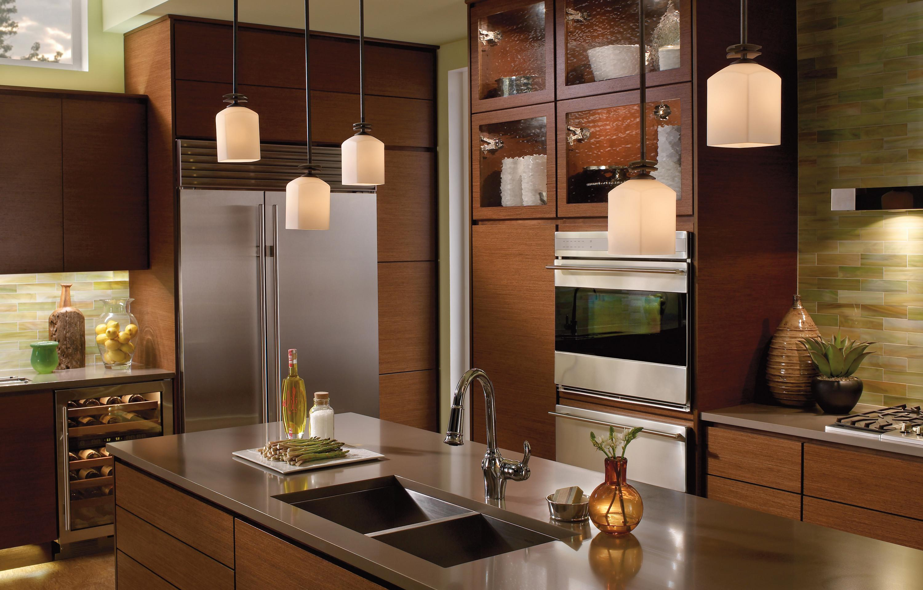 Kitchen Recessed Lighting White Ceiling
