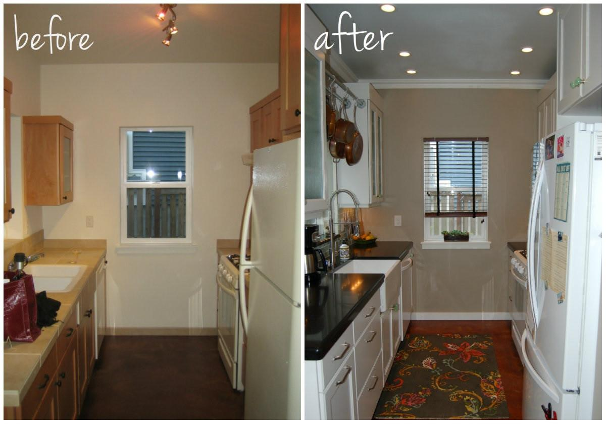 Kitchen Remodel Before After Photos Compact Dining