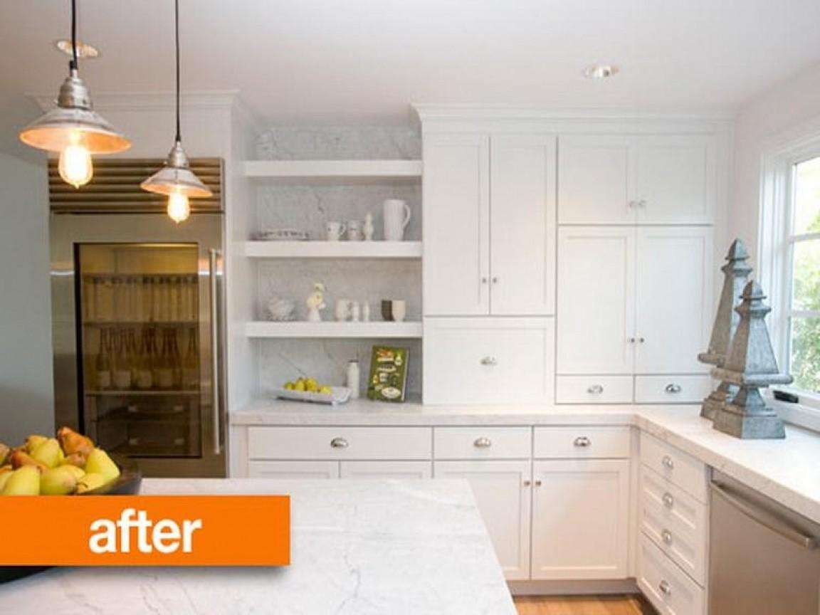 Kitchen Remodels Before After Photos Cabinet