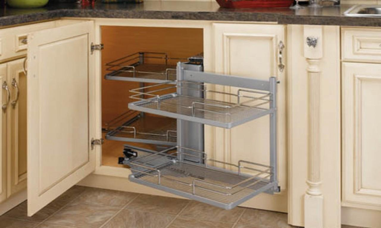 Kitchen Sink Organizer Blind Corner Cabinet Decoratorist 206161