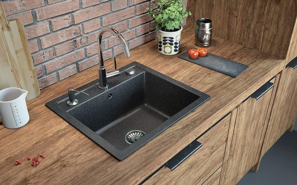 Kitchen Top Composite Granite Sinks Design Ideas