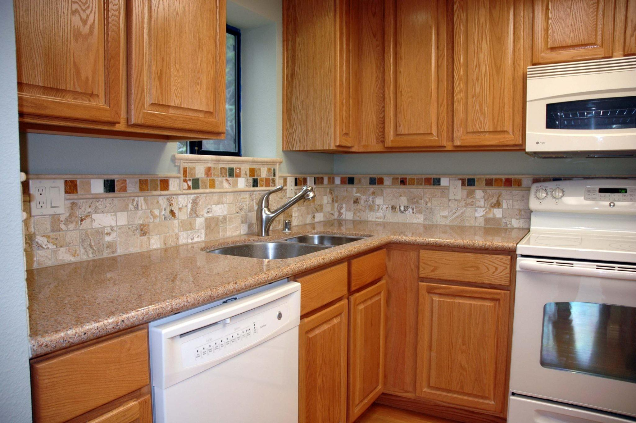Kitchen Wall Color Oak Cabinets Cozy Home Design