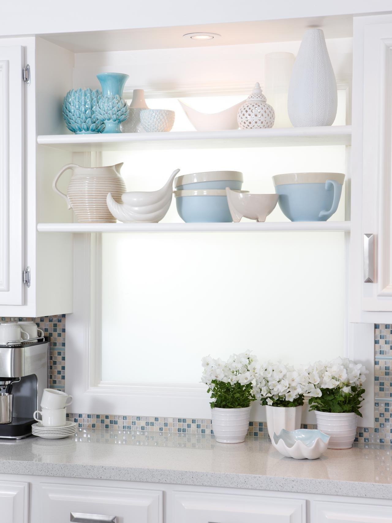 Kitchen Window Shelves White Faucets Write Spell Clipgoo