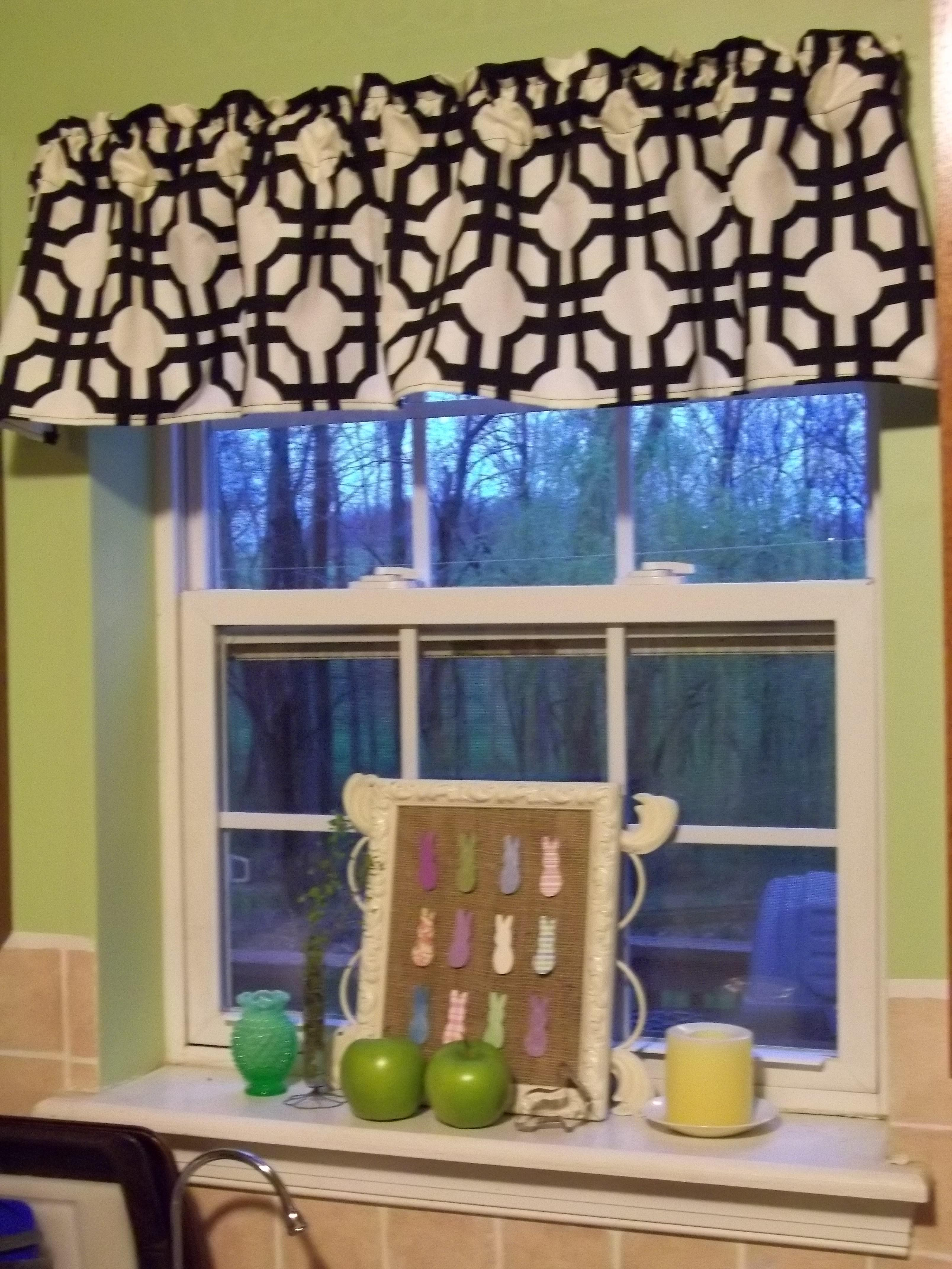 Kitchen Window Valance Quiver Blessings