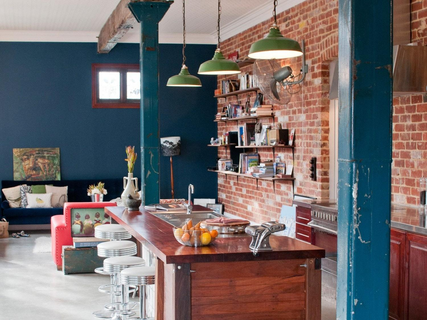 Kitchens Exposed Brick Walls Kitchn