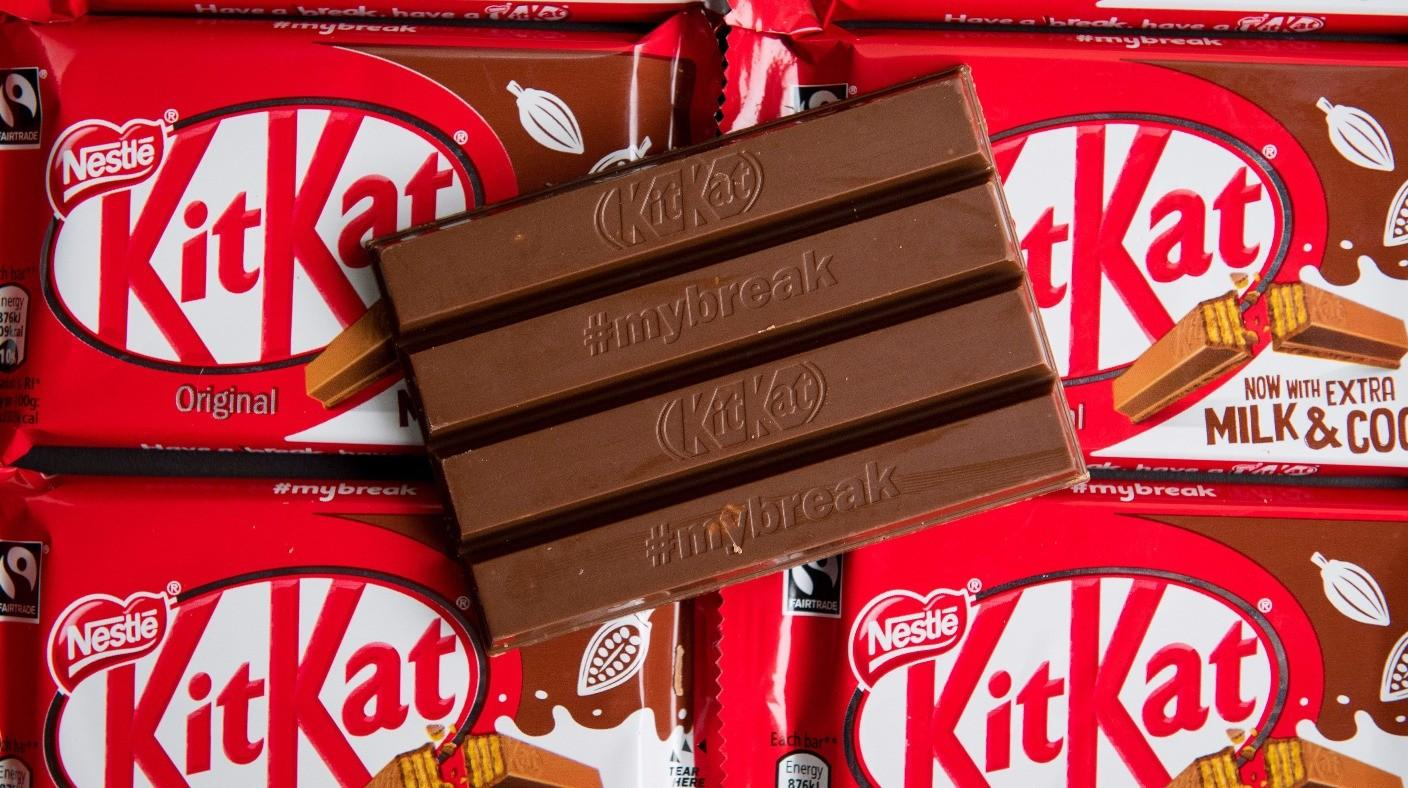 Kitkat Gets Thumbs Down Four Finger Trademark Row Itv