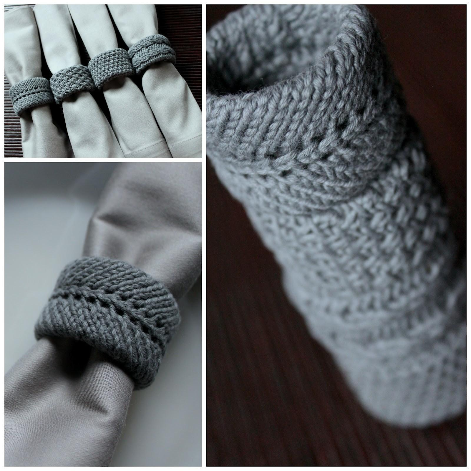 Knitted Napkin Rings