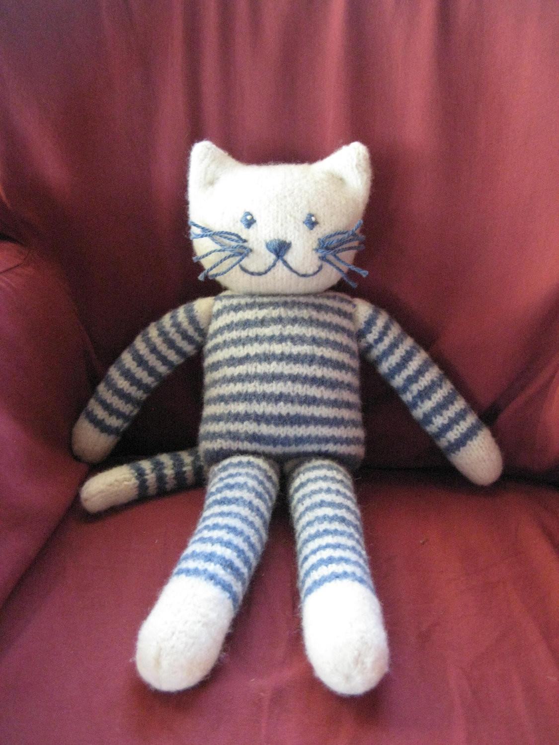 Knitted Toys Cats Crochet Knit