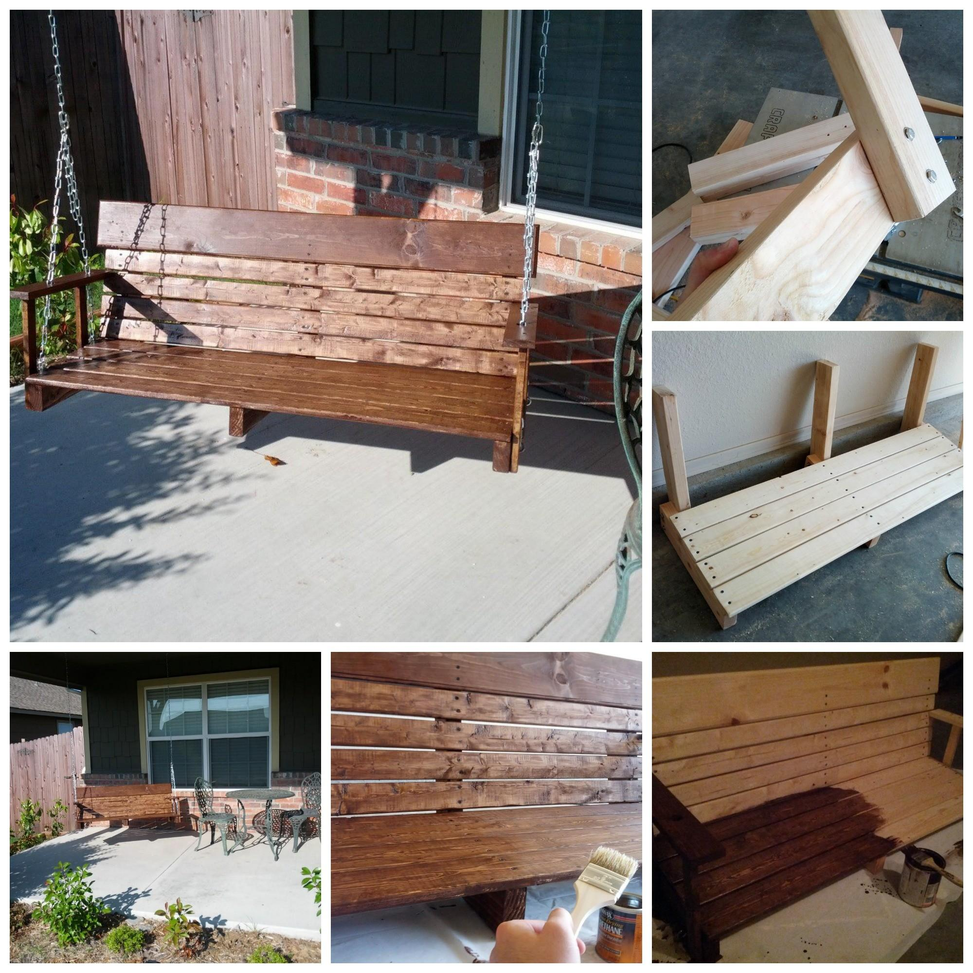 Known Valley Love Home Diy Porch Swing Ideas