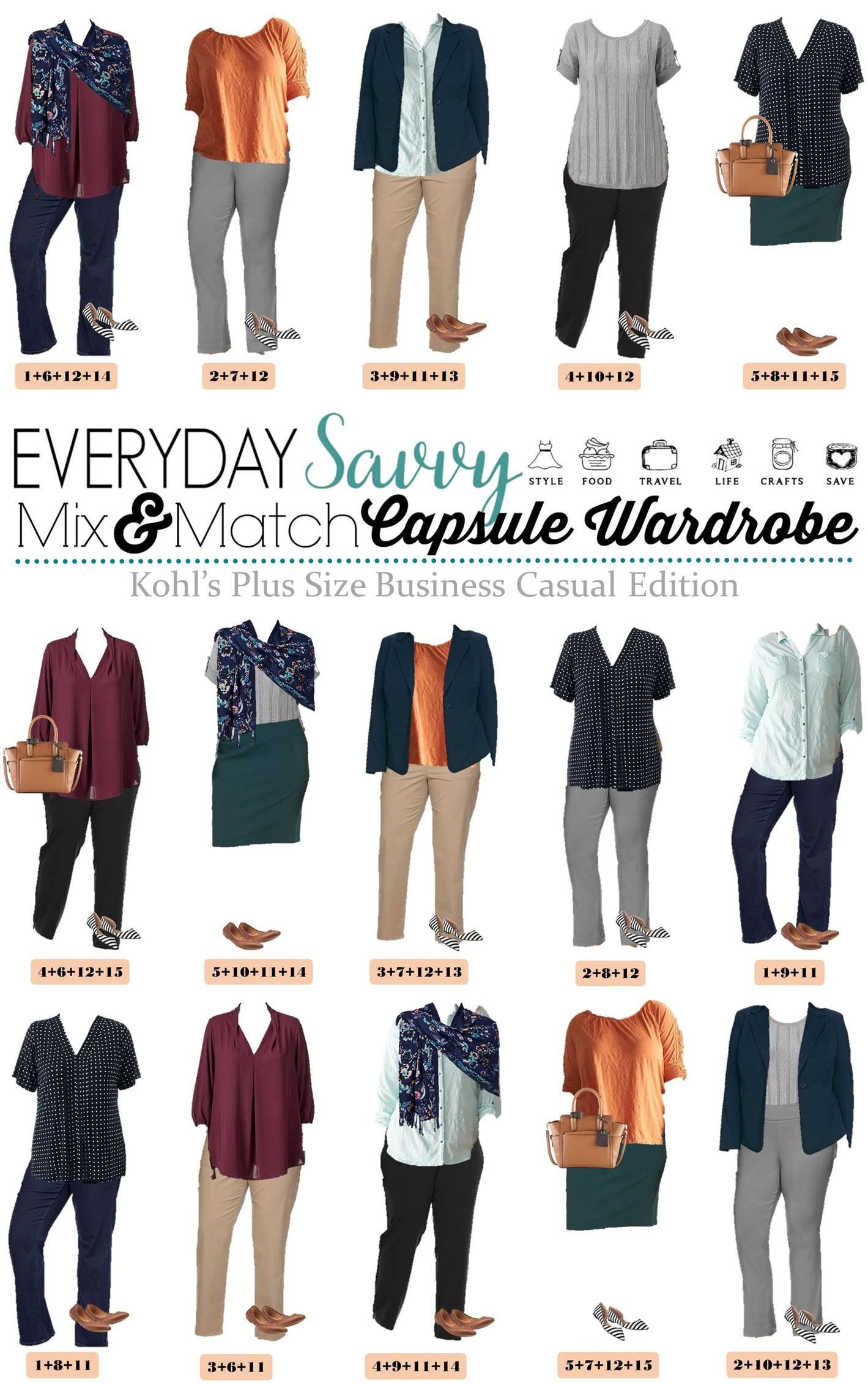 Kohls Plus Business Casual Outfit Ideas Spring