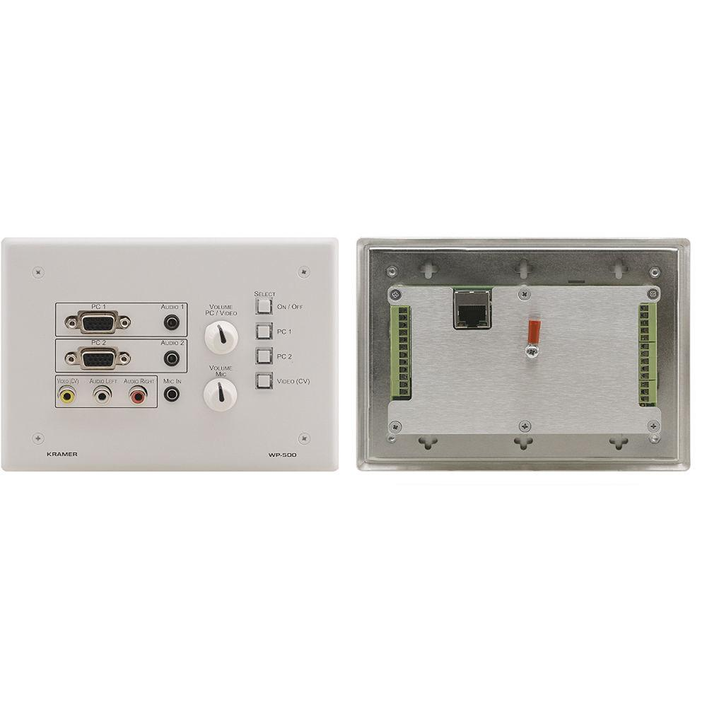 Kramer Active Wall Plate Solution Room Control 500