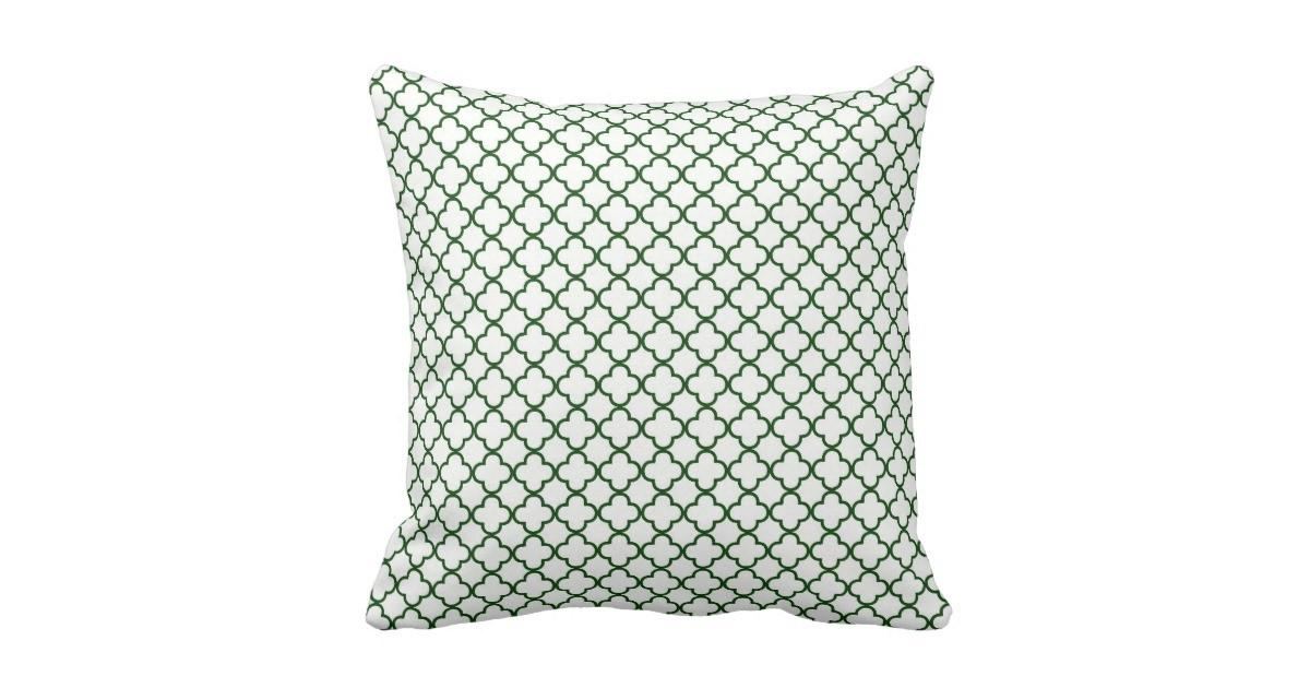 Krw Park Avenue White Emerald Decor Pillow Zazzle