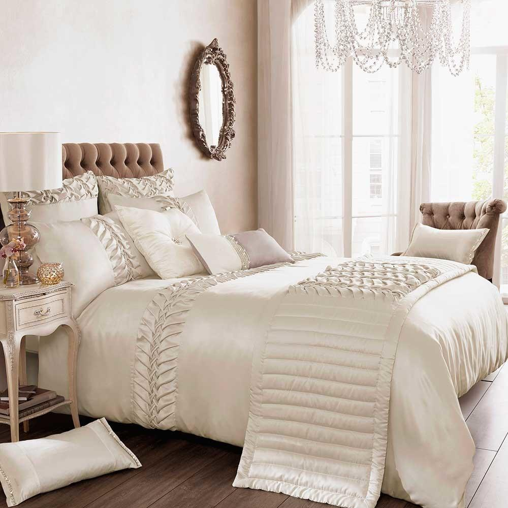Kylie Minogue Bedding Felicity Luxury Faux Satin Bed