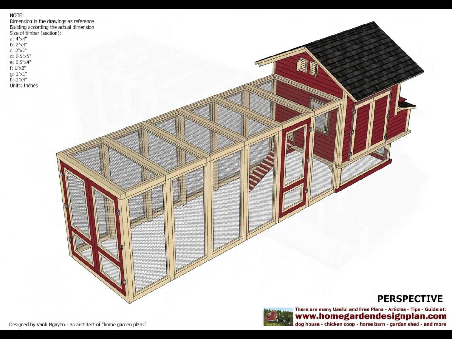L102 Chicken Coop Plans Build