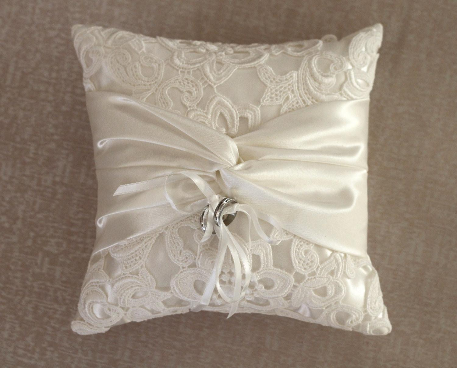 Lace Ring Bearer Pillow Savary Homes