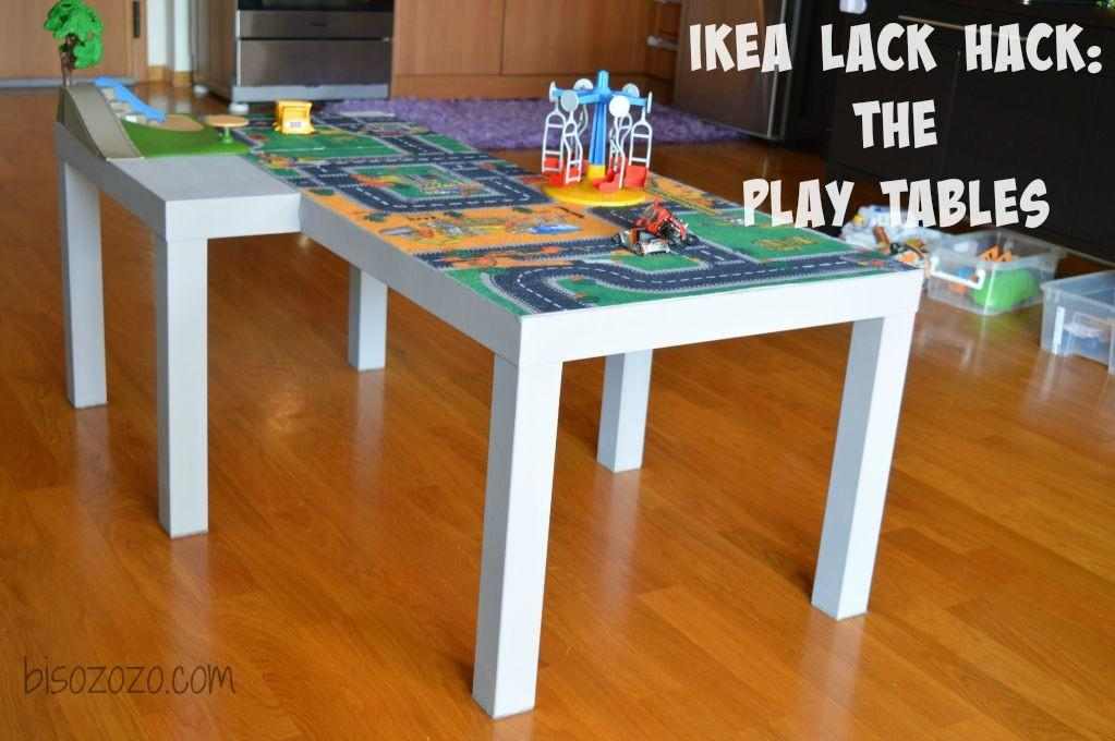 Lack Hack Play Tables Bisozozo